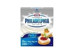 森永 フィラデルフィアクリームチーズ プレーン 箱60g
