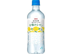 KIRIN 晴れと水 手摘みレモン ペット550ml
