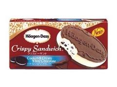 ハーゲンダッツ クリスピーサンド クッキー&クリーム ホワイトチョコレート 箱66ml
