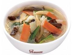 ミスタードーナツ misdo 陳式四川 七種の野菜麺