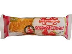 Pasco おいしいシューロール あまおういちご&練乳ホイップ 袋1個
