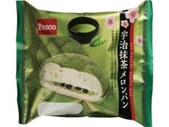 Pasco 宇治抹茶メロンパン 袋1個