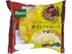 Pasco ホイップメロンパン マロン 袋1個