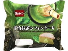 Pasco 宇治抹茶シフォンケーキ 袋1個