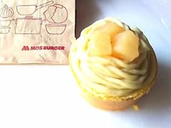 モスバーガー やさしい豆乳スイーツ さつまいもとりんごのモンブラン 1個
