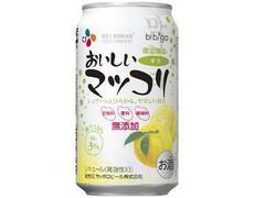 サッポロ CJおいしいマッコリ ゆず 缶350ml
