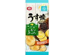 亀田製菓 うす焼グルメ レモンペッパー 袋75g