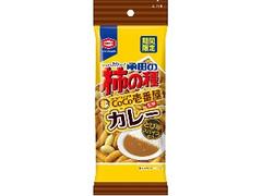 亀田製菓 亀田の柿の種 CoCo壱番屋監修カレー 袋60g