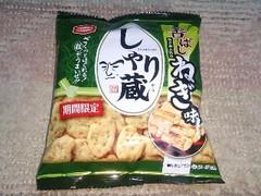 亀田製菓 しゃり蔵 香ばしねぎ味 袋43g