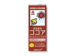 紀文 豆乳飲料 ココア パック200ml