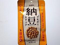 カンロ プチポリ納豆スナック 袋18g
