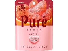 カンロ ピュレグミ 濃いピンクグレープフルーツ 袋56g