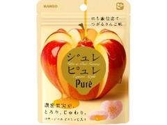 カンロ ジュレピュレ はち蜜仕立てつがるりんご 袋63g