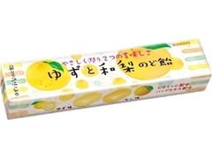 カンロ ゆずと和梨のど飴 11粒