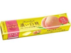カンロ フルーツリッチのど飴GOLD 濃い白桃 11粒