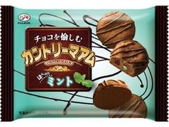 不二家 チョコを愉しむカントリーマアム ほんのりミント 袋45g