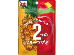 不二家 ドール 2つのフルーツグミ パイナップル&アップル 袋45g
