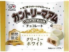 不二家 カントリーマアムチョコレート クリーミーホワイト 袋40g
