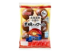 ヤマザキ 北海道産小麦の黒糖ロール 北海道産バター入りマーガリン 袋6個
