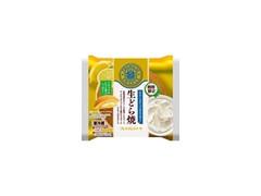 ヤマザキ PREMIUM SWEETS 生どら焼 レアチーズホイップ &レモンゼリー イタリア産レモンの果汁入りゼリー 袋1個