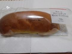 ヤマザキ スイートクリームサンド (粒入りピーナッツクリーム) 1個