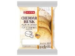 ヤマザキ チェダーチーズラスク 袋4枚