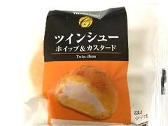 ヤマザキ ツインシュー ホイップ&カスタード 袋1個