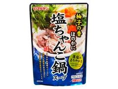マルサン 旨鍋専科 塩ちゃんこ鍋スープ 袋750g
