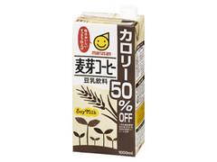 マルサン 豆乳飲料 麦芽コーヒー カロリー50%オフ パック1000ml