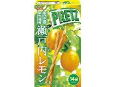 グリコ ジャイアントプリッツ 瀬戸内レモン 14袋