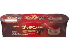 グリコ プッチンプリン ミルクチョコ&苺ソース カップ65g×3