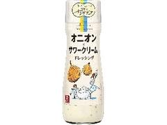 リケン サラダデュオ オニオン×サワークリームドレッシング 瓶170ml