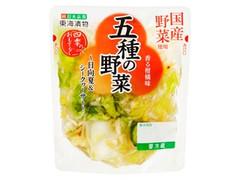 東海漬物 五種の野菜 香る柑橘味 袋100g
