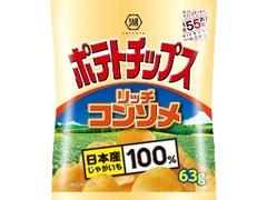 コイケヤ ポテトチップス リッチコンソメ 袋63g