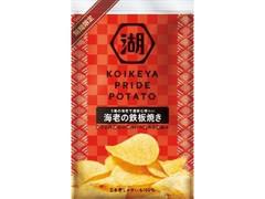コイケヤ KOIKEYA PRIDE POTATO 海老の鉄板焼き 袋58g