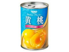 宝幸 黄桃 2つ割り 缶410g
