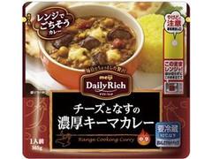 明治 Daily Rich チーズとなすの濃厚キーマカレー 袋165g