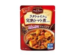 明治 Daily Rich ラタトゥイユ風完熟トマト煮ソース 袋280g