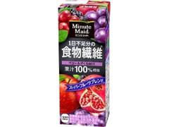 ミニッツメイド 1日不足分の食物繊維 ベリー&ざくろMIX パック200ml