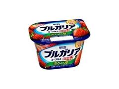 明治 ブルガリアヨーグルト 脂肪0 実りの苺 カップ180g