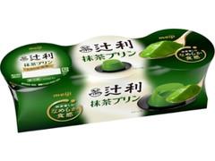 辻利 抹茶プリン カップ70g×3