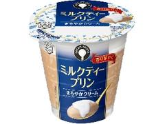 雪印メグミルク CREAM SWEETS ミルクティープリン カップ110g