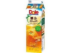 Dole 糖分30%off オレンジ パック1000ml
