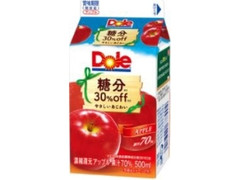 Dole 糖分30%off アップル パック500ml
