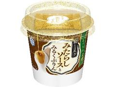 雪印メグミルク 和とミルク みたらしソースとみるくぷりん カップ110g