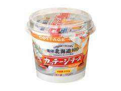 雪印 北海道100 カッテージチーズ うらごしタイプ カップ200g