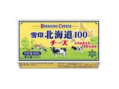 雪印 北海道100 チーズ 箱200g