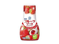 雪印 フルーツソース ストロベリー ボトル150g