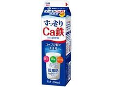 メグミルク すっきりCa鉄 低脂肪 パック1000ml