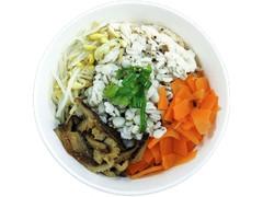 ファミリーマート たまごと蒸し鶏の野菜雑穀スープ